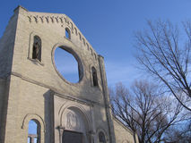 Ruínas de Monastary em St. Norbert, #2 Fotos de Stock