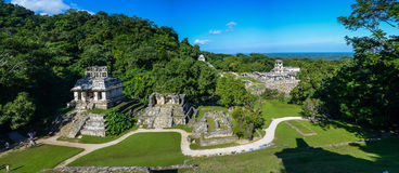 Ruínas de Palenque Fotografia de Stock Royalty Free