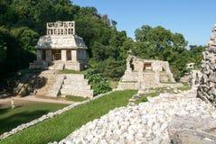Ruínas de Palenque, cidade do Maya em Chiapas, México Imagens de Stock Royalty Free