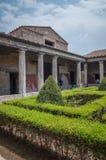 Ruínas de Pompeia imagem de stock