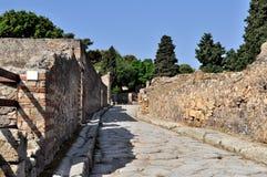 Ruínas de Pompeia Fotografia de Stock