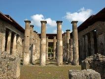 Ruínas de Pompeii fotos de stock