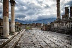 Ruínas de Pompeii Italia Imagens de Stock Royalty Free