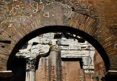 Ruínas de Portico di Octavia Imagem de Stock