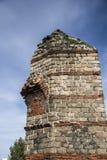 Ruínas de Roman Aqueduct em Merida, Espanha imagens de stock royalty free