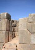 Ruínas de Sacsayhuaman Imagens de Stock Royalty Free