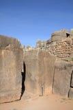 Ruínas de Sacsayhuaman Fotografia de Stock Royalty Free