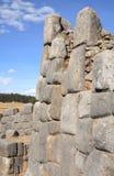 Ruínas de Sacsayhuaman Imagens de Stock