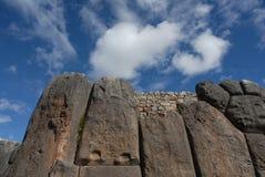 Ruínas de Sacsayhuaman Foto de Stock
