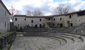 Ruínas de Saepinum Altilia, Molise, Itália Fotos de Stock Royalty Free
