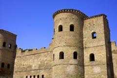 Ruínas de San Giovanni da área de Roma Italia Fotografia de Stock Royalty Free