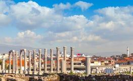 Ruínas de Smyrna antigo Izmir moderno, Turquia Imagens de Stock