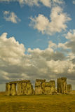 Ruínas de Stonehenge Imagens de Stock