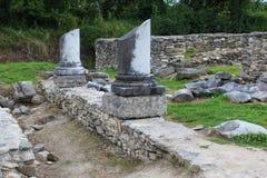 Ruínas de Ulpia Traiana Sarmizegetusa Fotos de Stock Royalty Free