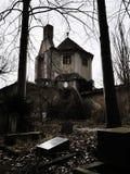 Ruínas de um crematório fotos de stock royalty free
