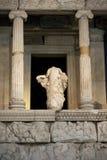 Ruínas de um templo grego Fotografia de Stock Royalty Free