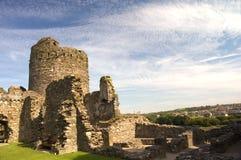 Ruínas do castelo Foto de Stock