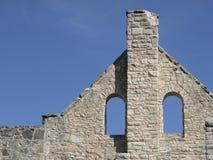 Ruínas do castelo foto de stock royalty free