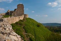 Ruínas do castelo Imagem de Stock