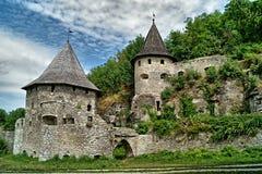 Ruínas do castelo antigo Fotografia de Stock Royalty Free