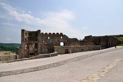 Ruínas do castelo de Devin Fotografia de Stock Royalty Free