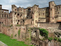 Ruínas do castelo de Heidelberg Fotografia de Stock Royalty Free