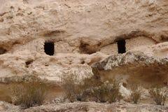 Ruínas do castelo de Montezuma foto de stock