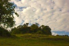 Ruínas do castelo de Neu-Schauenburg, Frenkendorf Fotografia de Stock Royalty Free