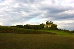 Ruínas do castelo de Neu-Schauenburg, Frenkendorf Fotos de Stock