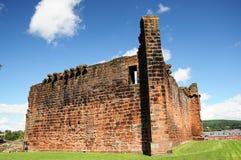 Ruínas do castelo de Penrith Imagem de Stock