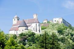 Ruínas do castelo dos peixes-agulha imagens de stock royalty free