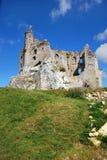 Ruínas do castelo em Mirow Imagem de Stock