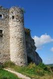 Ruínas do castelo em Mirow Imagens de Stock