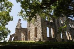 Ruínas do castelo do Ha Ha Tonka fotos de stock
