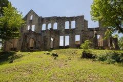 Ruínas do castelo do Ha Ha Tonka imagens de stock royalty free