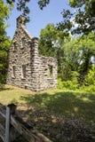 Ruínas do castelo do Ha Ha Tonka foto de stock