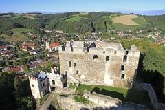 Ruínas do castelo Kirchschlag fotos de stock royalty free