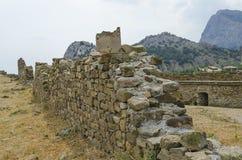 Ruínas do castelo velho Foto de Stock