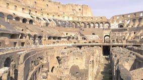 Ruínas do colosseum vídeos de arquivo