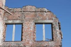 Ruínas do disastre da bomba atômica Fotografia de Stock Royalty Free