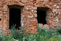 Ruínas do edifício velho Fotos de Stock Royalty Free