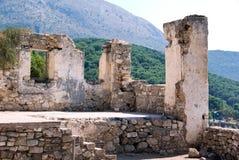 Ruínas do grego Imagem de Stock Royalty Free