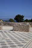 Ruínas do grego clássico em Empuries Imagem de Stock
