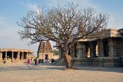 Ruínas do império Hampi de Vijayanagara imagem de stock