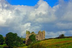 Ruínas do irlandês Fotos de Stock Royalty Free