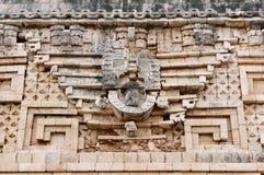 Ruínas do Maya de Uxmal em Iucatão, México foto de stock royalty free