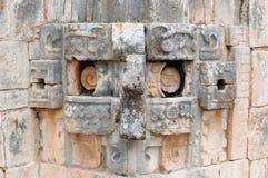 Ruínas do Maya de Uxmal em Iucatão, México imagem de stock