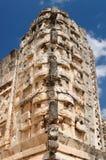 Ruínas do Maya de Uxmal em ucatan, exico Fotografia de Stock