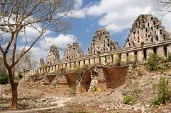 Ruínas do Maya de Uxmal em ucatan, exico Foto de Stock Royalty Free