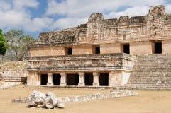 Ruínas do Maya de Uxmal em ucatan, exico Imagens de Stock